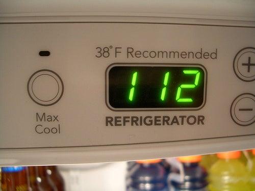 Halten Sie immer die empfohlene Temperatur bei, denn ein Anstieg oder ein Rückgang der empfohlenen Temperatur kann den Lebensmitteln schaden. (Foto:  chrisscott / Flickr.com)