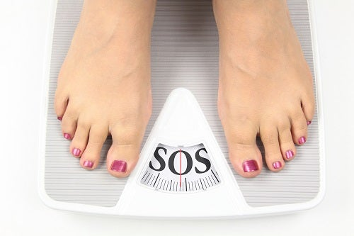 Kontrolieren Sie ihr Gewicht