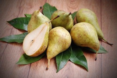 Birnen helfen bei akuter Gastritis