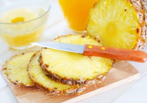 Ananas während der Menstruation