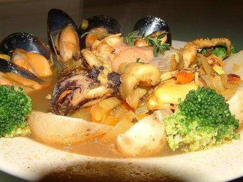 Meeresfrüchte sind schädliche Lebensmittel bei Gicht