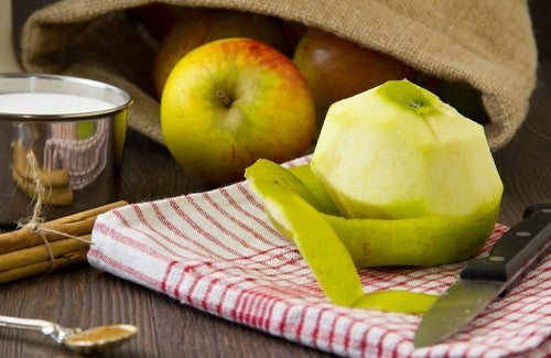 Apfelschale – Gut zum Abnehmen