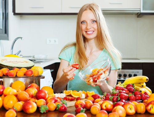 Obst gegen schmerzhafte Endometriose