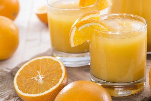 Orangen mit viel Vitamin C