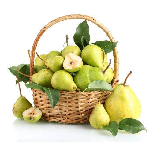 Eine Birne täglich für die Schönheit