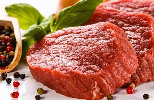 Rotes Fleisch in Maßen!