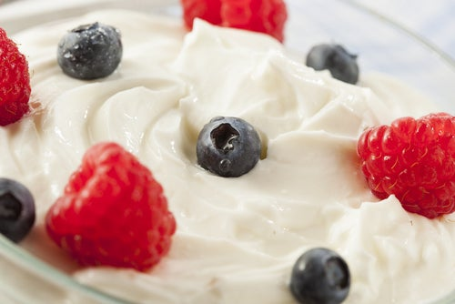 Yogurt-y-frutas