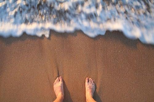 Füsse-Strand