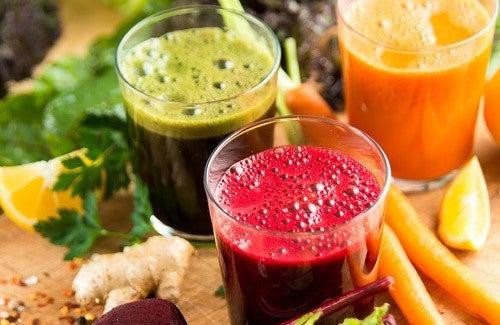 Fruchtsäfte zur natürlichen Körperreinigung