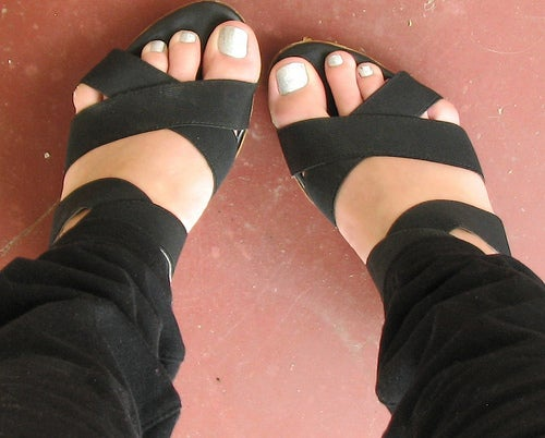 perfekte Fußpflege
