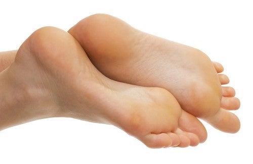 Hornhaut und Schwielen an den Füßen