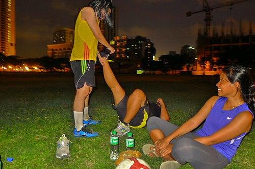 Muskelkrämpfe nach dem Joggen
