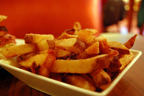 Pommes Frites gehören zu den Dickmachern
