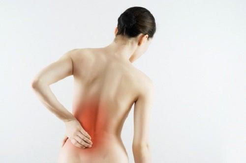 Rückenschmerzen sind ein Symptom von Niereninsuffizienz