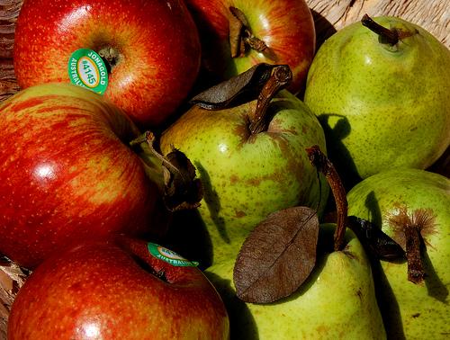 abnehmen-Apfel