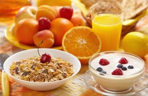 Sieben Regeln für ein gesundes Frühstück
