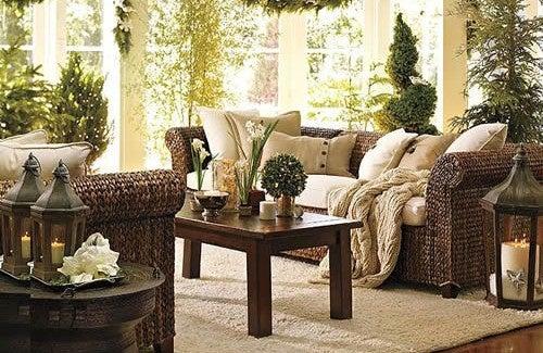 wohnzimmer-zimmerpflanzen-dekoration