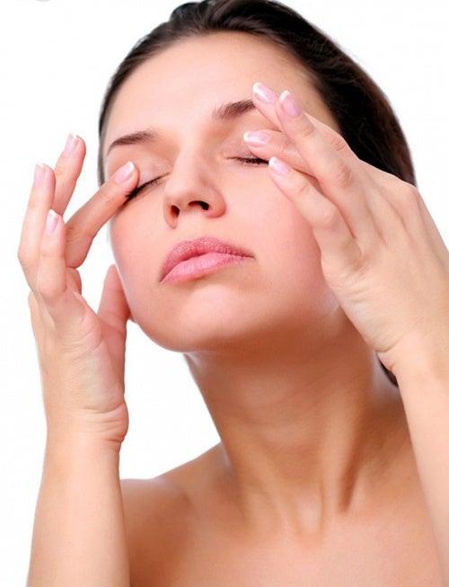 Augenentspannung für trockenes Auge