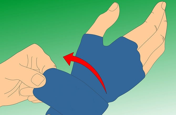 Druck-handschuhe