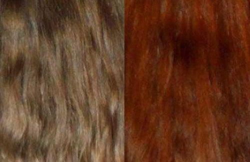 Haare färben mit natürlichen Extrakten