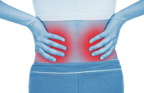Rückenschmerzen sind Symptome einer Nierenerkrankung