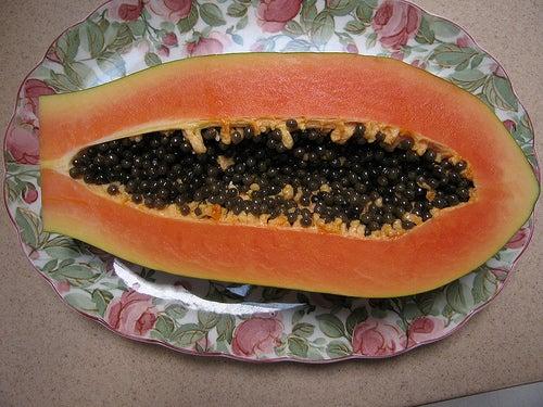 Ernährung bei Reflux: Papaya