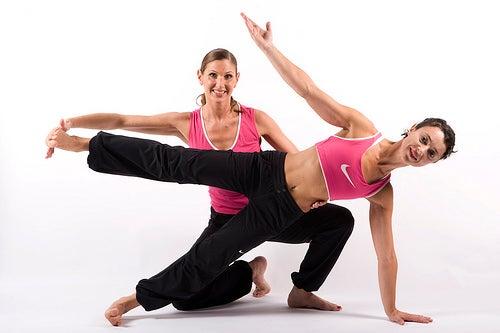 übungen stellung training körper seele gesund leben