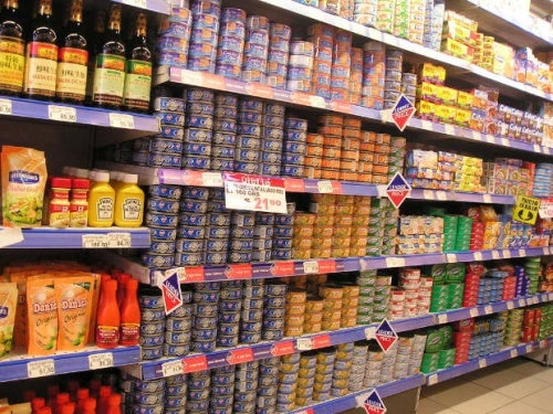 Konservendosen Supermarkt