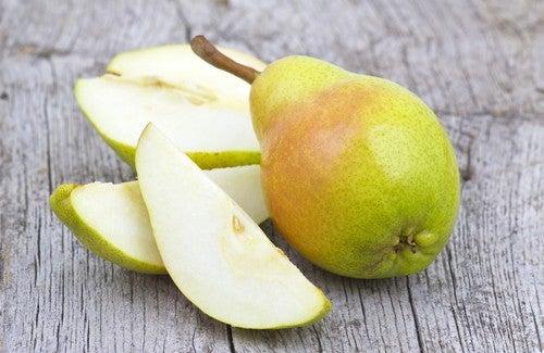Essen Sie jeden Tag eine Birne!