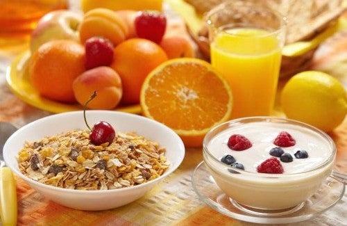 Gesundes und praktisches Frühstück