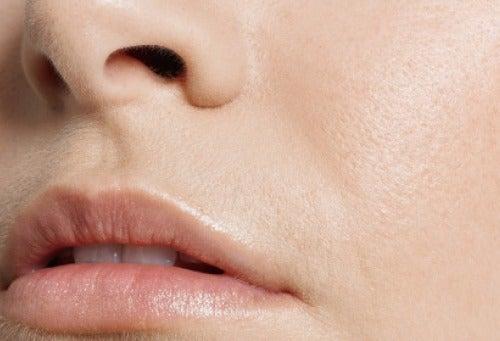 Haut mit Apfelessig pflegen