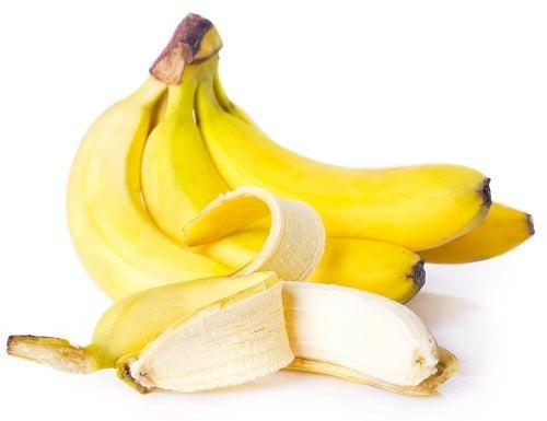 Frische Bananen sind magenfreundlich