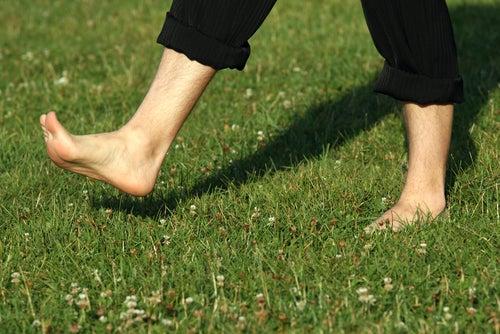 Barfuß-laufen