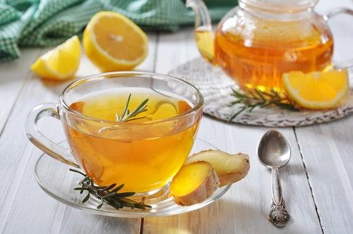Ingwer-Tee