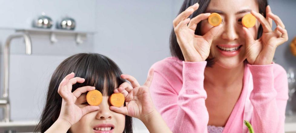 Karotten-Sehkraft