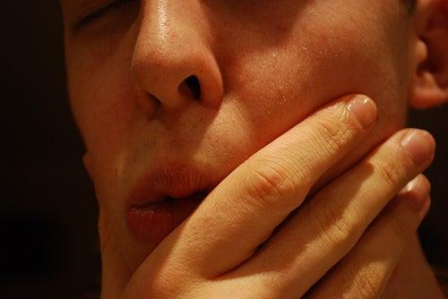 Mund-schmerzen