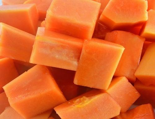 Mit Papaya abnehmen