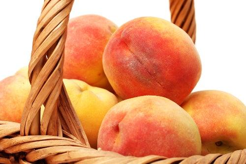 Pfirsiche gegen Gastritis
