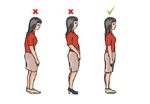 Wie kann ich meine Körperhaltung verbessern