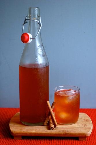 Zimt-Honig-Getränk
