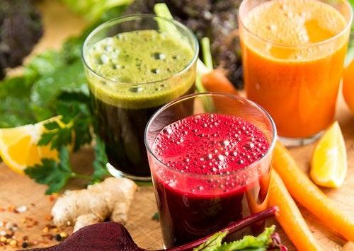 Fruchtgetränke zum Abnehmen