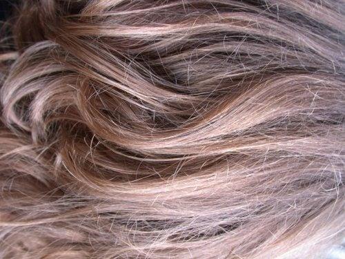 Natürliche Masken gegen stumpfes Haar