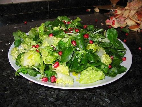 Vegetarische Rezepte: Leckerer Salat