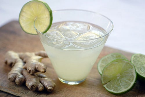 Energy-Drink mit Ingwer