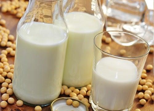 Sojamilch enthält Phytoöstrogene