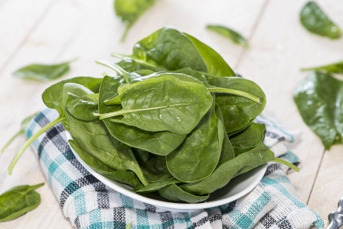 Spinat ist im Allgemeinen gesund