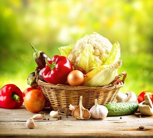 Vegetarische Rezepte sind gesund