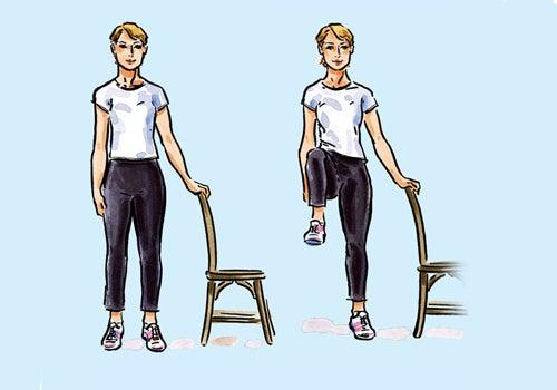 Einfache Übungen, die man überall durchführen kann