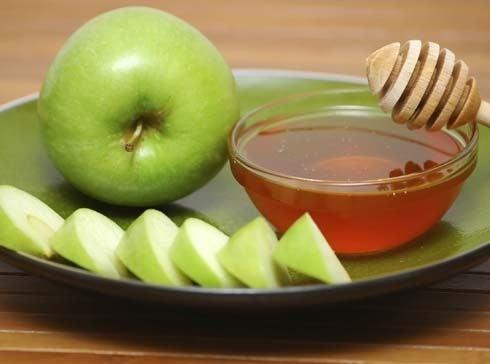 Apfel-Gesichtsmaske