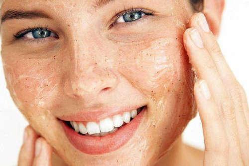 Peeling für strahlende Haut